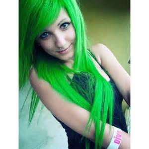 color hair green temporarially picture 7