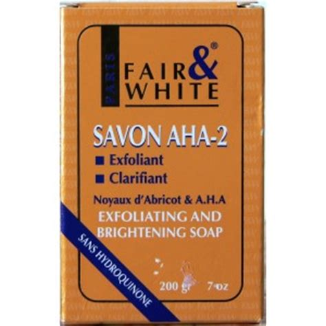 fair and white aha2 savon exfoliating and brightening picture 2