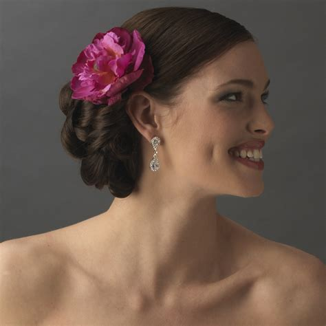 flower hair clips picture 7