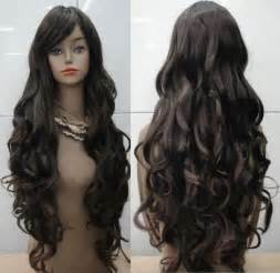curly long hair wigs picture 9