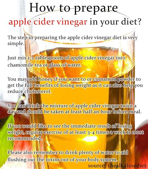 apple cider vinegar diet pills side affects picture 2