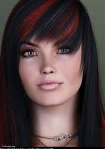 dying hair black picture 10