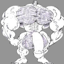furry.muscle cock growth picture 9