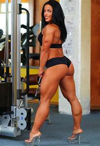 ko female muscle domination picture 1