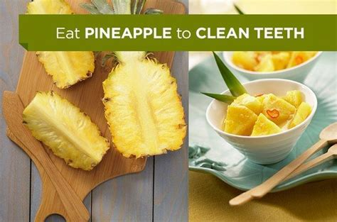 whiten teeth with pineapple picture 3