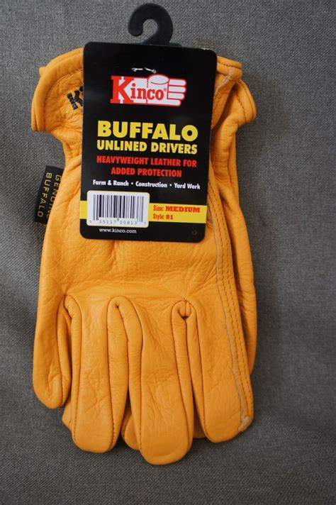 cabela's unlined buffalo skin gloves picture 4