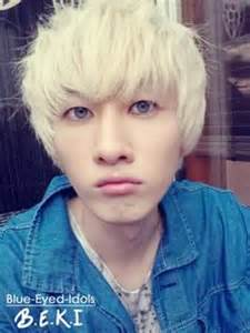 korean men obsessed blonde hair blue eyes picture 6