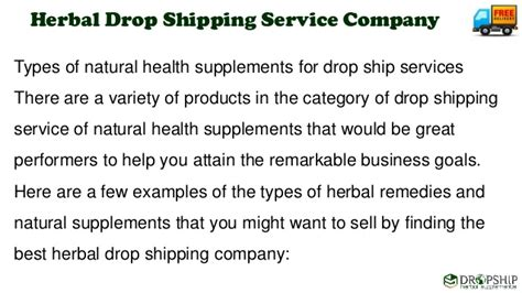 drop ship for herbs picture 3