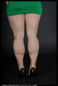 girl with muscular calves. picture 10