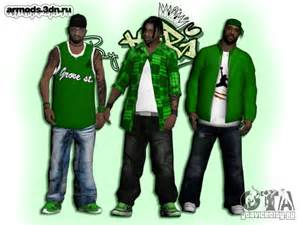 gta sa new gangs skin picture 6