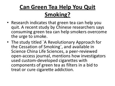 a tea which helps with the 'quit smoking' picture 1