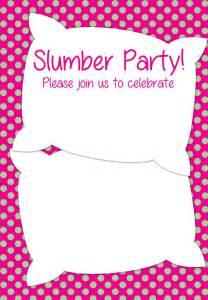 free printable sleepover party invitation picture 19