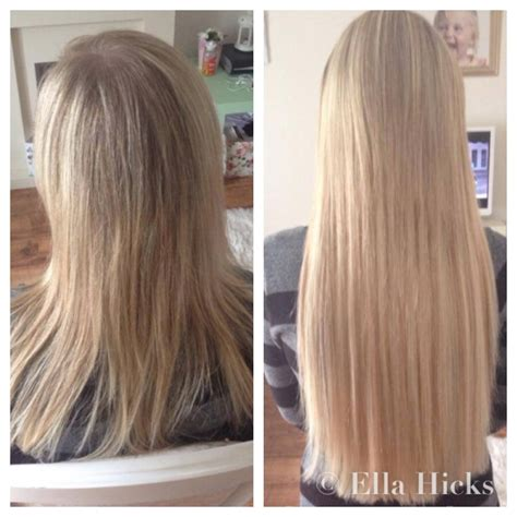 caring for long hair extensions picture 9