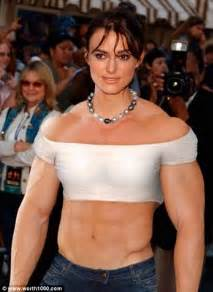 women celebrity muscle morphs picture 5