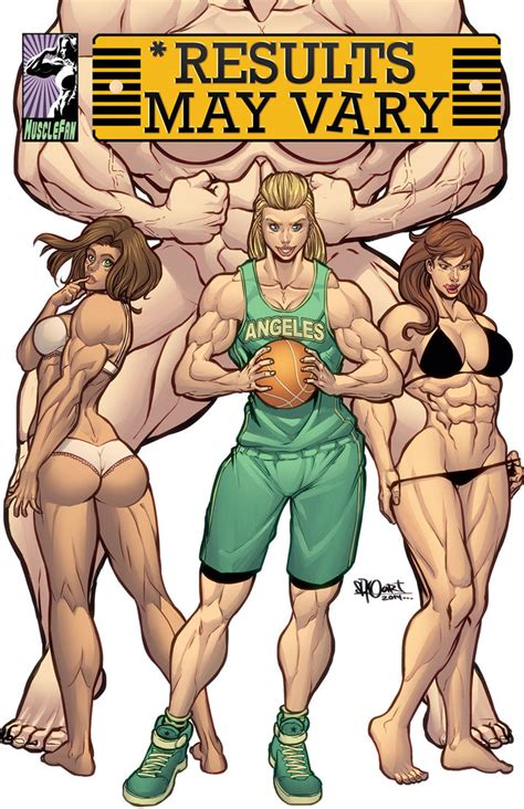 results may vary. female muscle growth picture 2
