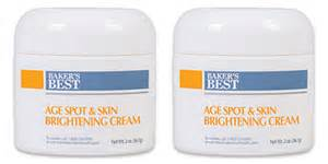 baker's best age spot and skin brightening cream picture 3