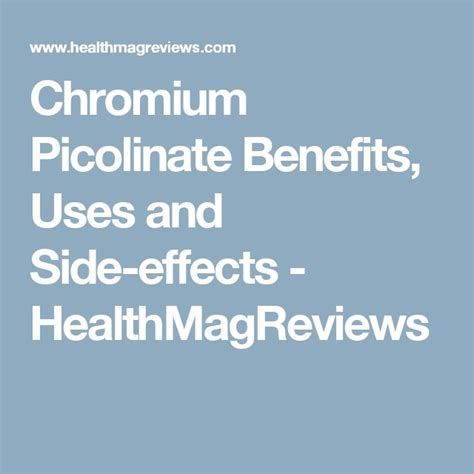 chromium picolinate side effects picture 3