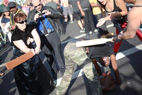 men women flashing street fairs picture 9