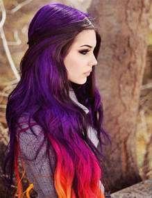 crazy colored hair picture 2