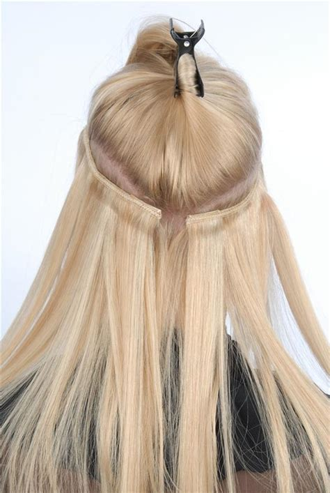 clip on hair wefts picture 1