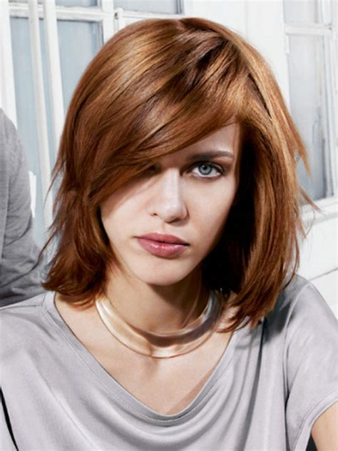 pictures of medium hair cuts picture 1