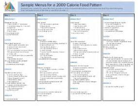 2000 calorie sample menus picture 3