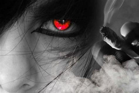 smoke effect high eye tension picture 2