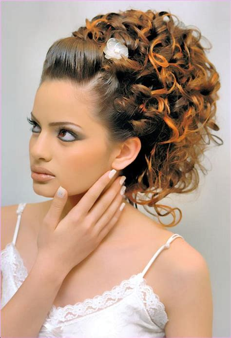 curly hair wedding updos picture 17