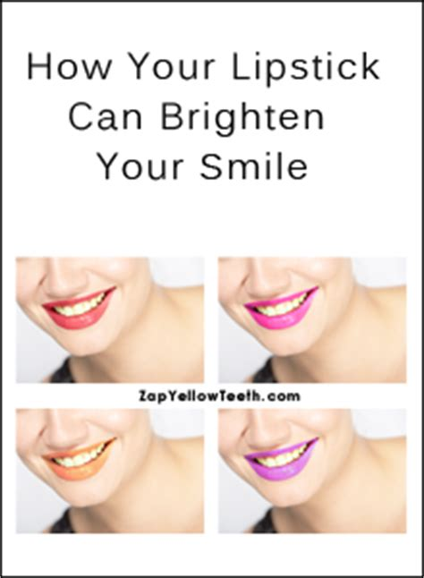 what kind of lip gloss can make your teeth whiter picture 1