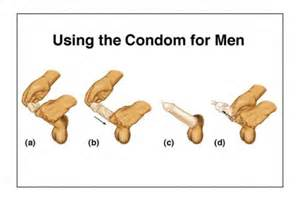 how to put on condom using real penis picture 1