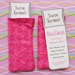 invitations for sleepover birthday party picture 6