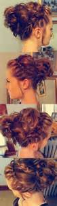 half up half down hair do's for prom picture 15
