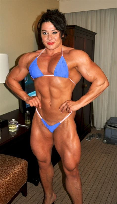 female muscle mixed wrestling picture 1
