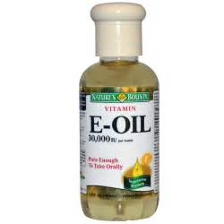 vitam e oil on my picture 1
