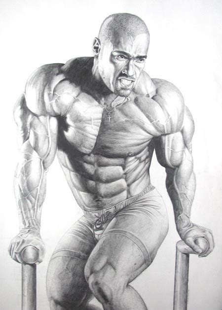 female muscle art picture 9