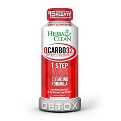 herbal clean qcarbo 20 clear p a drug picture 3