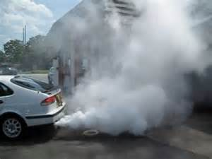 car exhaust white smoke picture 1