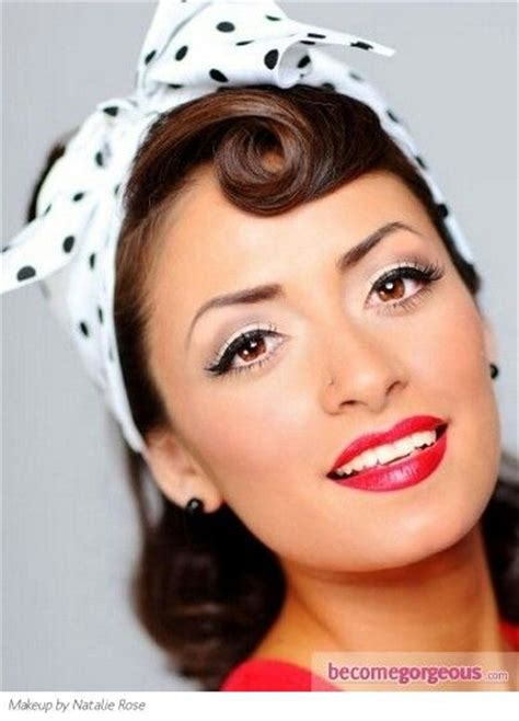 1950's hair and makeup picture 9