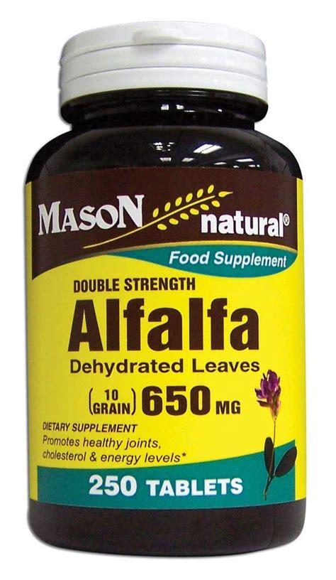 alfalfa supplements picture 2
