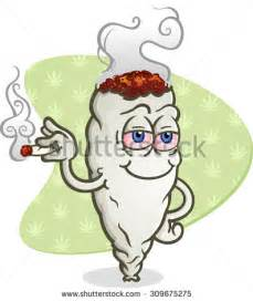 cartoon smoking joint picture 17