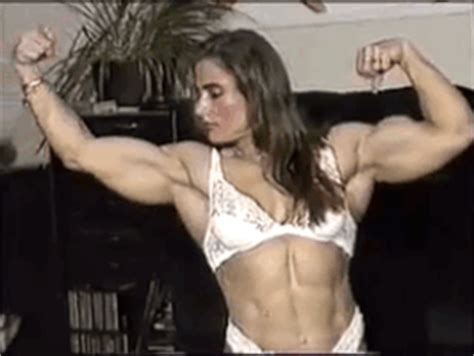 big muscle women female picture 2