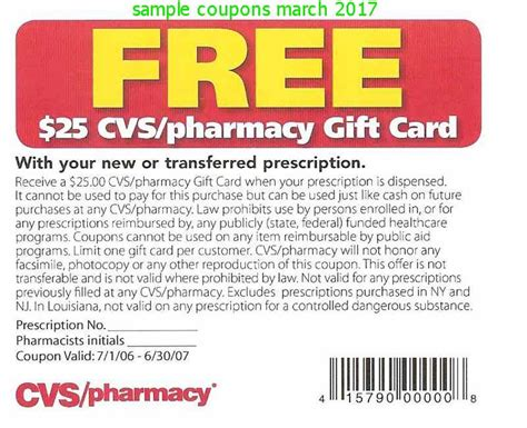 $25 cvs new prescription coupon 8/30/14 picture 1