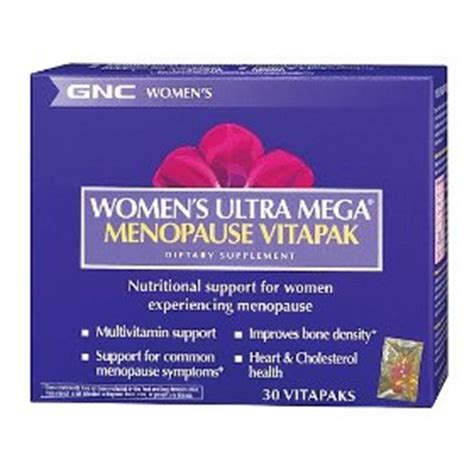 gnc menopause vitapak recalled picture 2