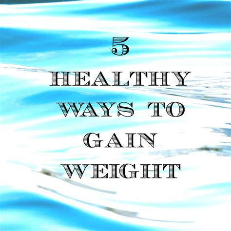 ways to gain weight picture 13