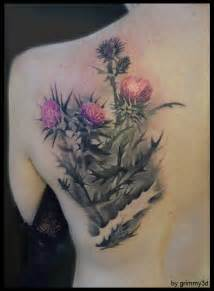 thistle tattoos picture 1