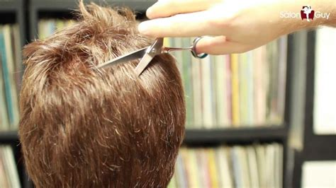 thinning out thick hair with scissors picture 3