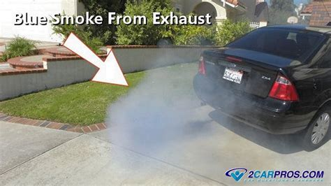 blue smoke out of tailpipe when start car picture 1