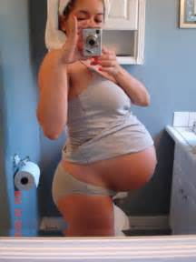 huge pregnant stomach with dectuplets picture 10