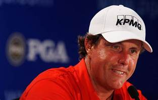 phil mickelson and acne picture 1