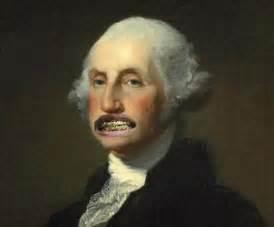 george washington's false h picture 1